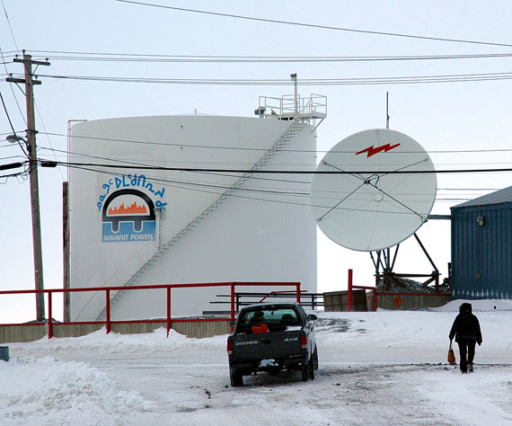 The Rankin Inlet power plant, in an undated file photo, from when the QEC was still called the