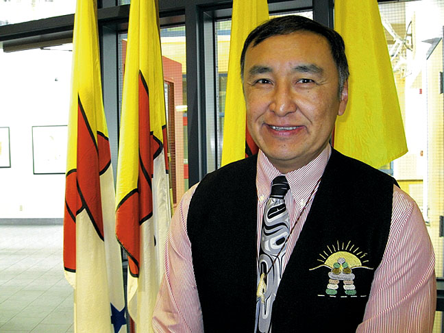 Paul Okalik, Nunavut's former premier, has been named the territory's new chief negotiator for devolution—the process of transferring control over land and resources from the federal government to the Nunavut government. (FILE PHOTO)