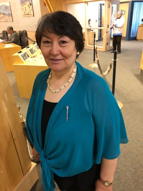 "Cathy Towtongie, MLA for Rankin Inlet North-Chesterfield Inlet, says she spoke out in the legislature for better screening of Inuit custom adoptive parents because ""by our silence we are enabling the sex predators to adopt."