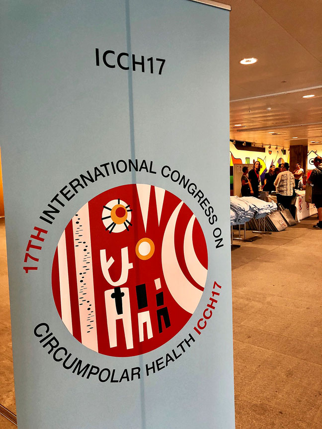 Hundreds of participants are visiting Copenhagen this week to attend the 17th meeting of the International Congress on Circumpolar Health. The next meeting scheduled for St. Petersburg, Russia in three years. (PHOTO BY JANE GEORGE)