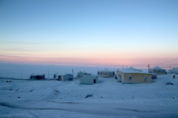 Around 1,600 people live in Nunavut's north Baffin community of Pond Inlet. (PHOTO BY BETH BROWN)