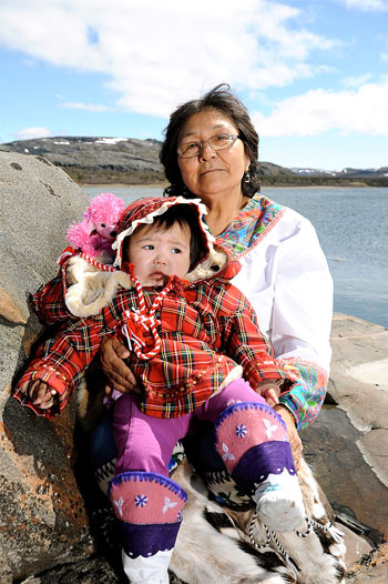 Sophie Keelan attempted in 1987 to recreate the old community of Killiniq at an inland location called Taqpangajuk, but the lack of services, especially a school, made it too difficult. Keelan is now happy to call Kangiqsualujjuaq her home. (PHOTO BY PASCAL POULIN)