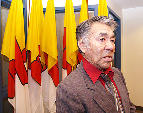 Akulliq MLA John Ningark wants his riding broken up after the new electoral boundaries commission completes its work in 2011. The Nunavut Legislative Assembly voted to establish a new commission that has 250 days to come up with a proposal to change Nunavut's electoral map. (FILE PHOTO)