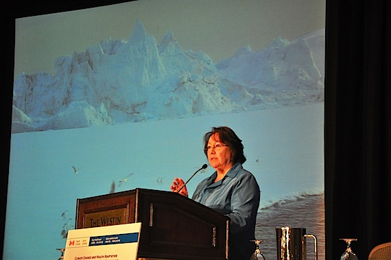 Sheila Watt-Cloutier to be featured on postage stamp | Nunatsiaq News