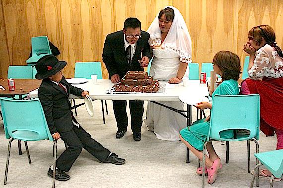 Photo: A joyous celebration for a Kimmirut couple in Cape Dorset