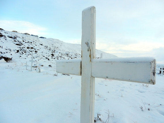 In 2011, many Nunavut residents continued to suffer the paralyzing grief of seeing family members and friends die by suicide in staggering numbers. (PHOTO BY JIM BELL)