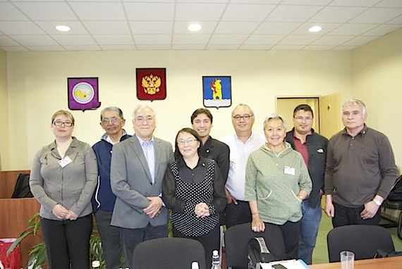 Members of the Inuit Circumpolar Council met in Chukotka during the recent ICC visit to the Russian state. (PHOTO COURTESY OF KIRT EJESIAK)
