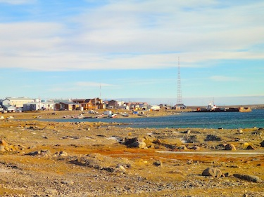 This site in Cambridge Bay been mentioned as a possible location for the future Canadian High Arctic Research Station. (FILE PHOTO)