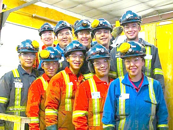 "These 10 new graduates from Arviat's diamond drilling course are ready for jobs in the mining industry. To date, 31 men and women have finished the eight-week course offered by the Hamlet of Arviat, the Government of Nunavut, Nunavut Arctic College, Northern College of Ontario, Agnico-Eagle Mines Ltd., Orbit Garant Drilling, Boart Longyear Drilling, and the Kivalliq Partners in Development. ""Out of the 21 graduates out of the previous two courses, 18 found at least part-time or temporary employment in the mining industry,"