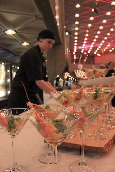 The sautéed Arctic shrimp martinis were one of the most popular items for guests attending Monday night's A Taste of the Arctic event in Ottawa. (PHOTO BY LISA GREGOIRE)