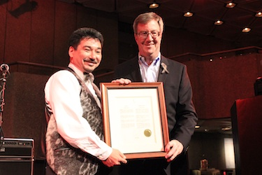 Ottawa Mayor Jim Watson declared April 29 Inuit Day in Ottawa during Monday night's A Taste of the Arctic, ITK's annual celebration of Inuit food and culture.
