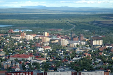 On May 15 in the northern town of Kiruna, Sweden, shown here, Canada will take over the chair of the Arctic Council from Sweden, (FILE PHOTO)