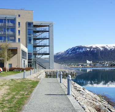 The Fram building — -the center of polar research in Norway — will also house the new Arctic Council secretariat. (PHOTO BY ALEX BOYD)