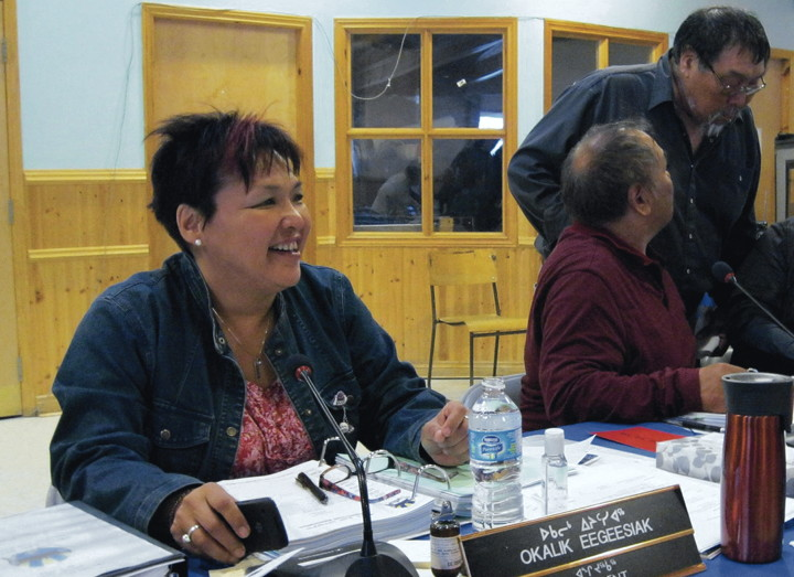 Okalik Eegeesiak, president of the Qikiqtani Inuit Association, says she was disappointed but not surprised when the National Energy Board approved a seismic testing project off the east coast of Baffin Island. In a few weeks, Eegeesiak will take on the new roll as head of the pan-Arctic Inuit Circumpolar Council. (FILE PHOTO)