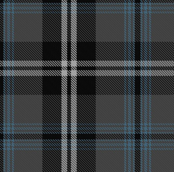 And this is the tartan Michael Kaye had designed for Nunavut a few years ago. Now Kaye and a group in Nunavut will agreed to decide on one tartan for the territory.
