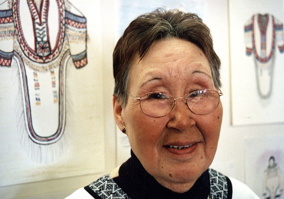 Arviat elder Rhoda Karetak was honoured with the Qulliit Nunavut Status of Women Council's Wise Women Award for 2012 for sharing Inuit Qaujimajatuqangit with her community. (FILE PHOTO)