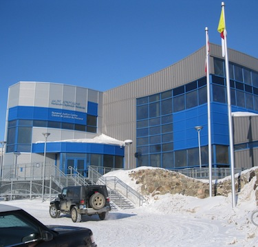 Closing arguments in the case of a 16-year-old accused of second-degree murder continue April 10 at the Nunavut Court of Justice in Iqaluit. (PHOTO BY PETER VARGA)