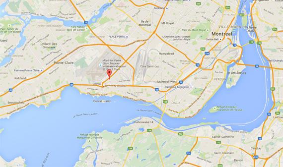 on google maps montreal