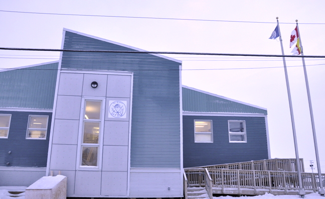 The Hamlet office in Igloolik: Igloolik residents will have to endure another painful coroner's inquest, likely in fall 2016, into the death by police of Felix Taqqaugaq. (PHOTO BY THOMAS ROHNER)