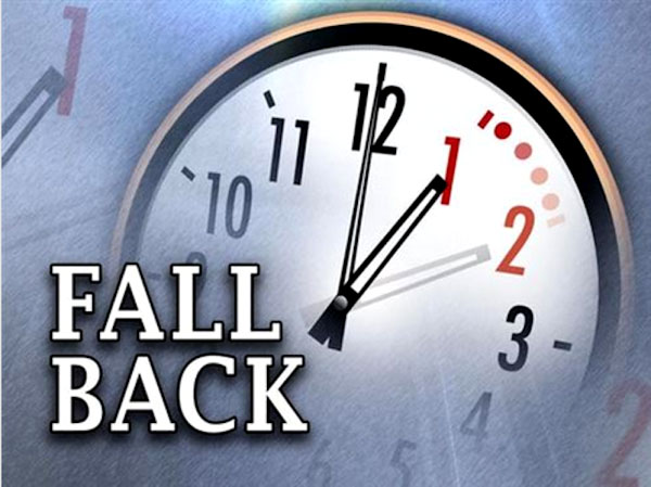 Turn your clocks and watches back one hour tonight and enjoy an extra hour  of sleep