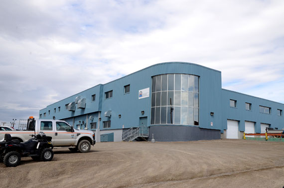 Iqaluit's recently renovated power plant. Nunavut's energy minister, Monica Ell, said the GN will likely participate in a future meetings of a provincial-territorial task force that has been set up to reduce dependency on diesel fuel for generating electricity. (FILE PHOTO)