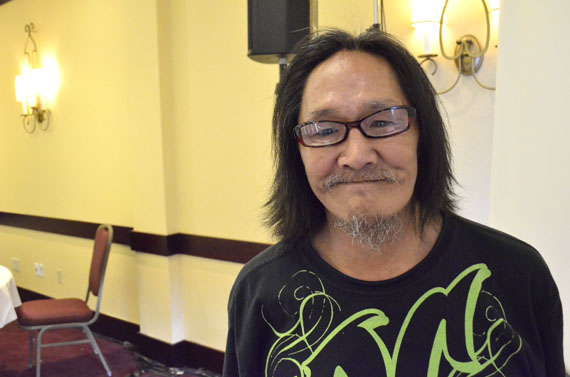Inusiq Shoo, originally from Iqaluit, now lives permanently in Ottawa after moving there 11 years ago. He said the transition was tough for a while, but he got a lot of help through Inuit Tungasuvvingat. (PHOTO BY JIM BELL)
