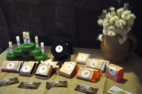 The Uasau Soap line of products includes soaps, body butters, bath products and skincare remedies. (PHOTO BY THOMAS ROHNER)