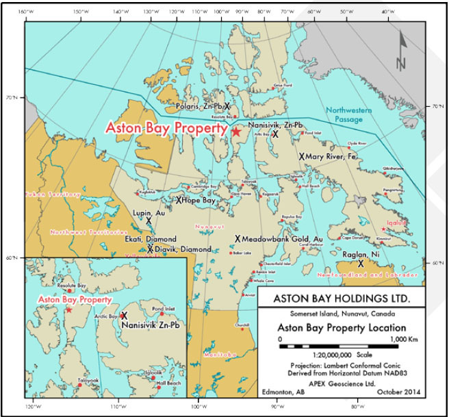 Mining giant BHP Billiton buys into Nunavut copper project