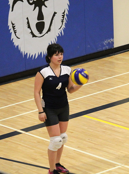 Emily Ann Niego Dunphy, former soccer star, will find herself on the volleyball court for this year's Arctic Winter Games in Nuuk. (PHOTO COURTESY ROMEYN STEVENSON)