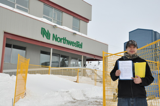 Iqaluit's Qaumariaq Inuqtaqau, 29, recently started a petition seeking support from the Government of Nunavut to compel Nunavut businesses to hire more Inuit. (PHOTO BY THOMAS ROHNER)