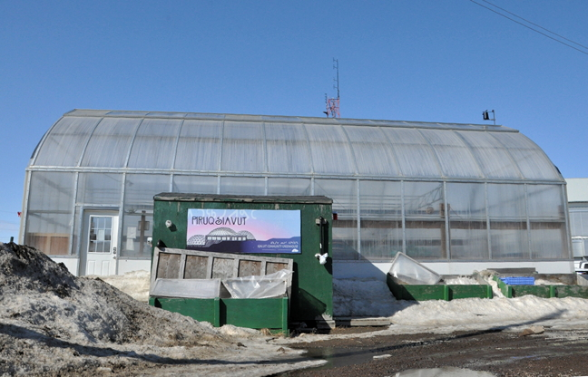 The Iqaluit Greenhouse Society's aging greenhouse, located behind the Nunavut Research Centre, will undergo significant renovations this year and as a result, will be unable to grow any produce this season. (PHOTO BY THOMAS ROHNER)