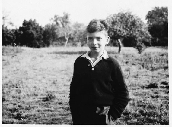 Gunther Abrahamson in a photo taken some time between 1939 and 1942 by his lifelong friend, Netta Pringle, at The Priory, a children's home in Selkirk, Scotland where he lived after his escape from Germany on the Kindertransport in 1939. (PHOTO FROM UNITED STATES HOLOCAUST MEMORIAL MUSEUM, WASHINGTON, D.C.)