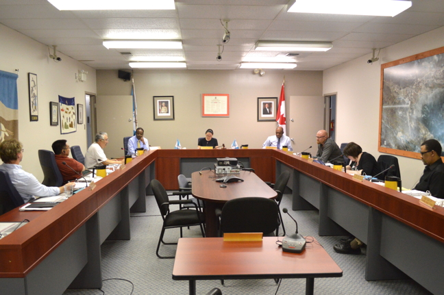 In a 3-2 vote, Iqaluit councillors have decided to forgo both appointments and by-elections and leave a vacant seat empty until the next election in 2018. (PHOTO BY STEVE DUCHARME)