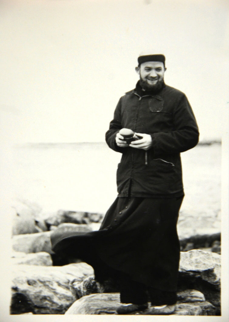 Father Joannis Rivoire, now aged 85 and living in France, in an early, undated photo taken in Chesterfield Inlet. He faces three sex charges related to incidents alleged to have occurred in Nunavut between 1968 and 1970, but has never been brought to justice (PHOTO COURTESY OF LIEVE HALSBERGHE)