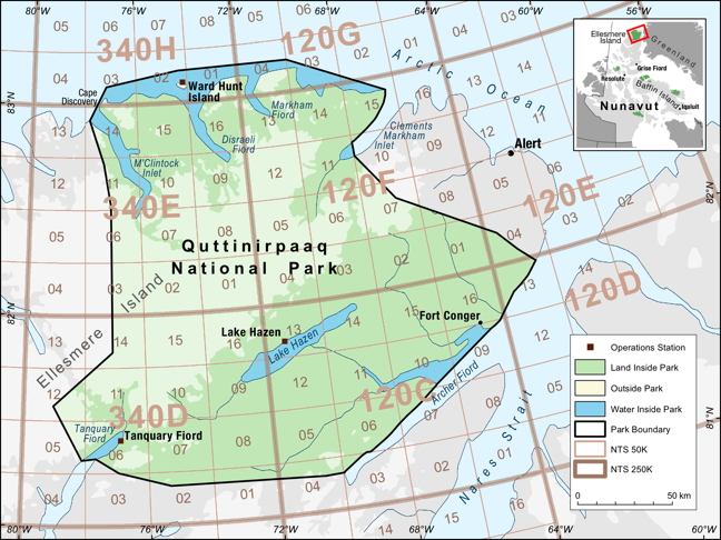 Nunavut park gets makeover, approval of huge fuel cache | Nunatsiaq on