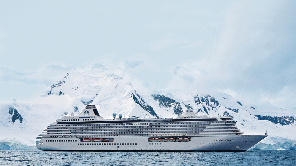 The Crystal Serenity will carry roughly 1,600 passengers and crew through the Northwest Passage. (FILE PHOTO)