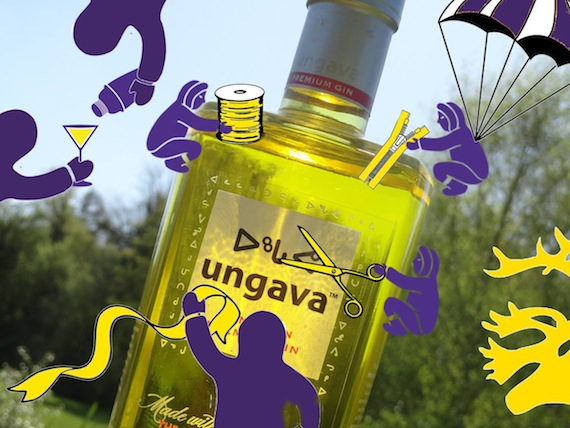 "Inuit as elves in an Ungava gin marketing image?  ""In this one @Ungava_Gin thinks we're like Santa's elves, it's fun being mythical creatures and not real human beings,"" tweeted Nunatsiavut Ossie Michelin Sept. 13."