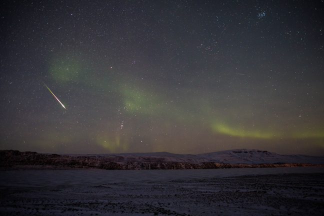 Photo: Make a wish, a star is falling | Nunatsiaq News