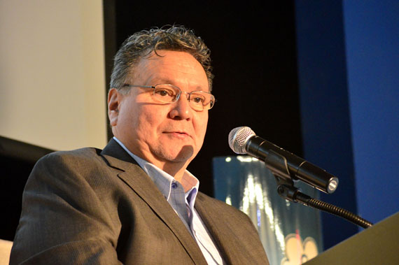 Nunavut Premier Peter Taptuna said that after the special inquest on suicide in Nunavut in September 2015, he realized the Government of Nunavut must do more on suicide prevention. (PHOTO BY JIM BELL)