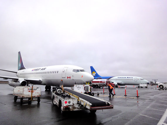 Faced with an investigation into price-fixing from the Competition Bureau of Canada and mounting criticism from Nunavut leaders and residents, First Air announced it will bail out of its codeshare agreement with Canadian North as of March 16, 2017 and fly solo thereafter. (FILE PHOTO)