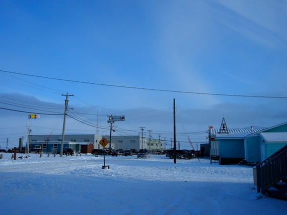 The Nunavut RCMP have investigated the Dec. 23 death of a woman in this western Nunavut community. (FILE PHOTO)