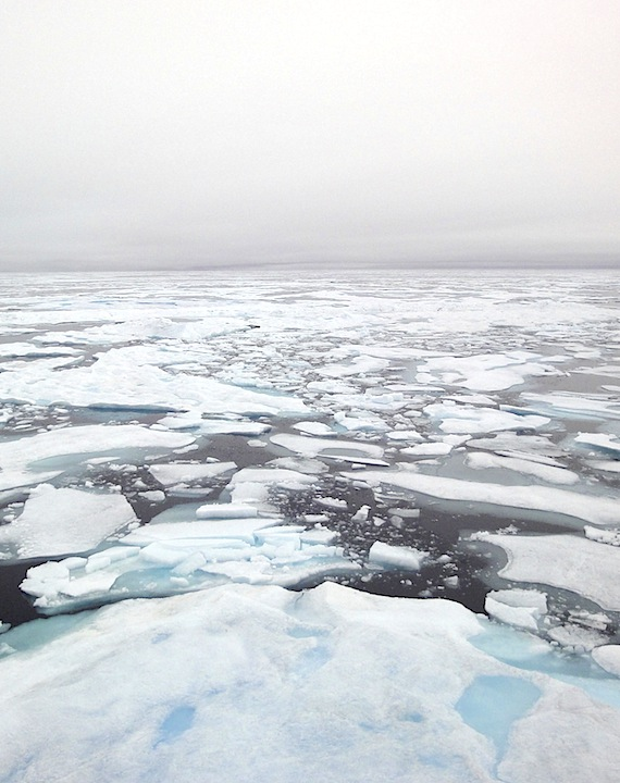 The Arctic Ocean's ice cover dropped to new lows in 2016, raising more concern about how to slow down the global climate's warming. (FILE PHOTO)