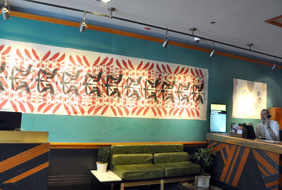 Rare Cape Dorset textiles find their way to trendy Toronto hotel