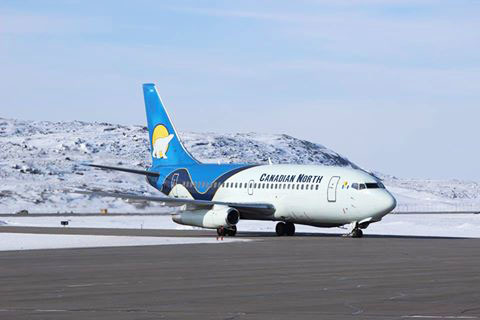Canadian North will no longer service the community of Clyde River, once its codeshare arrangement with First Air ends May 16. (FILE PHOTO)