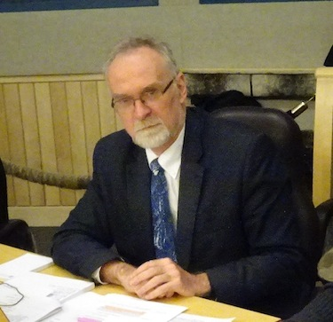 Michael Ferguson, the Auditor General of Canada, is in Iqaluit, at the Legislative Assembly, to answer questions about his recent report on health care services. (PHOTO BY JANE GEORGE)