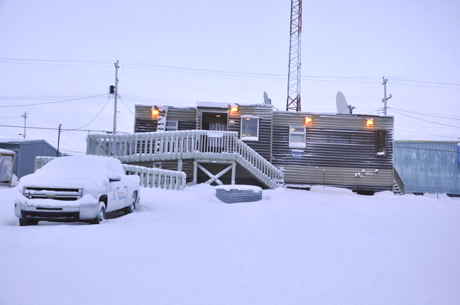 RCMP responded to a domestic dispute at the Igloolik home May 27. When officers arrived, police said they were confronted by a 23-year-old man pointing a firearm at them. He later surrendered peacefully. (FILE PHOTO)
