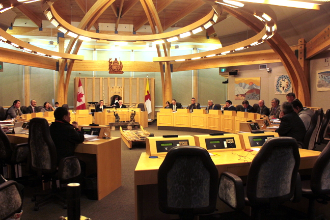 The short, two-week spring sitting of the Nunavut Legislative Assembly will include a number of debates including over whether to enact the long-awaited, much consulted Bill 37, An Act to Amend the Education Act and the Inuit Language Protection Act, or whether to scrap it and start over, as regular MLAs are suggesting. (FILE PHOTO)