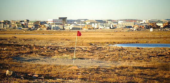 A golf tournament will be part of the events planned for Canada Day in Cambridge Bay. (PHOTO BY JANE GEORGE)