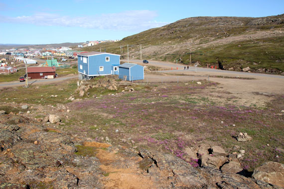 Iqaluit's Panaq Design Inc. will design a 60-child daycare to be built at the corner of Paunna Rd. and the Road to Apex. (PHOTO BY BETH BROWN)