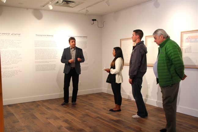 A collection of North Baffin drawings from the 1960s are now on display at Iqaluit's Nunatta Sunakkutaangit Museum until Oct. 7. The exhibit,